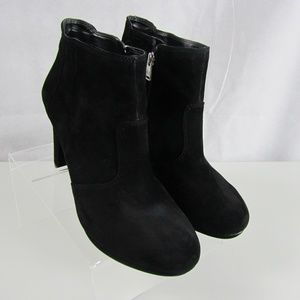 Rockport Adidas US 10 Black Suede Ankle Boots